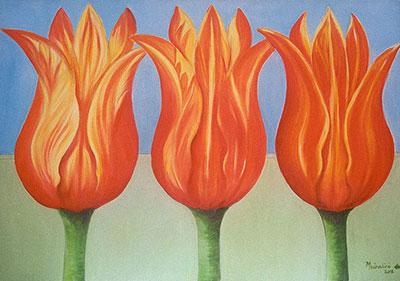 Tulips, Trishul